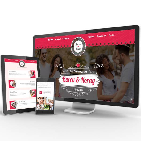 Özel Alan Adına Sahip Videolu Web Sitesi