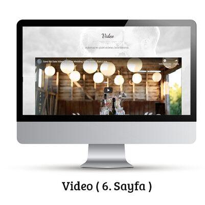 Özel Alan Adına Sahip Videolu Web Sitesi - Thumbnail