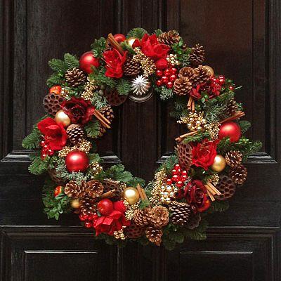 Zel dekorasyon y lba kap s sleri - Decorazioni natalizie moderne ...