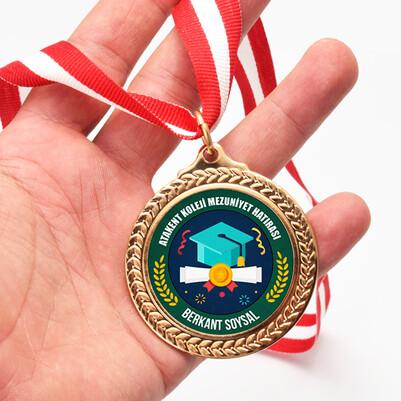 - Özel Okul Mezuniyet Madalyonu