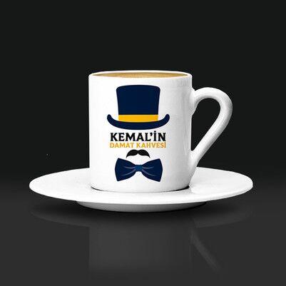 - Özel Tasarım Damat Kahve Fincanı