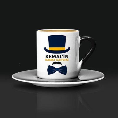Özel Tasarım Damat Kahve Fincanı - Thumbnail