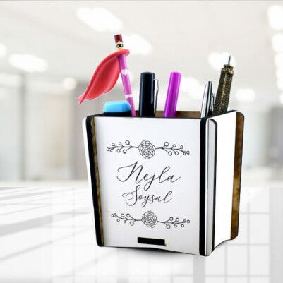 - Özel Tasarım İsme Özel Kalemlik