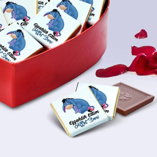 Özür Dilerim Affet Beni Çikolata