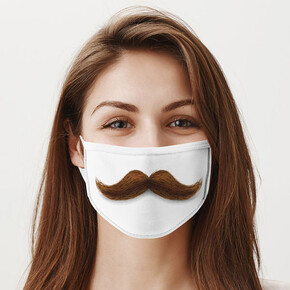 - Pala Bıyık Yıkanabilir Ağız Maskesi