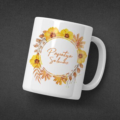 Papatya Çiçeğim İsme Özel Konsept Hediye Kutusu - Thumbnail