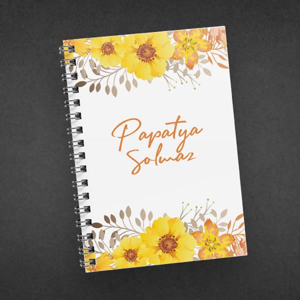 Papatya Çiçeğim İsme Özel Konsept Hediye Kutusu