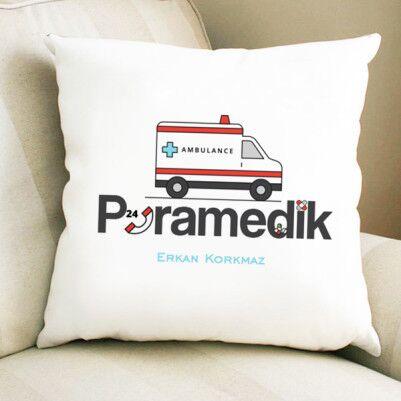 - Paramedike Hediye Kare Yastık