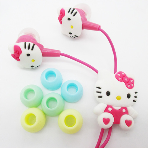 Pembe Hello Kitty Kulaklık