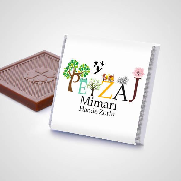 Peyzaj Mimarına Hediye Çikolata Kutusu