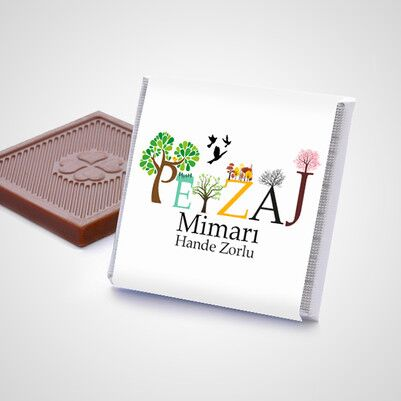 Peyzaj Mimarına Hediye Çikolata Kutusu - Thumbnail