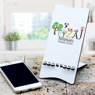 - Peyzaj Mimarına Hediye Telefon Standı