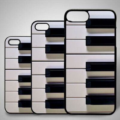 - Piano Temalı iPhone Telefon Kapağı