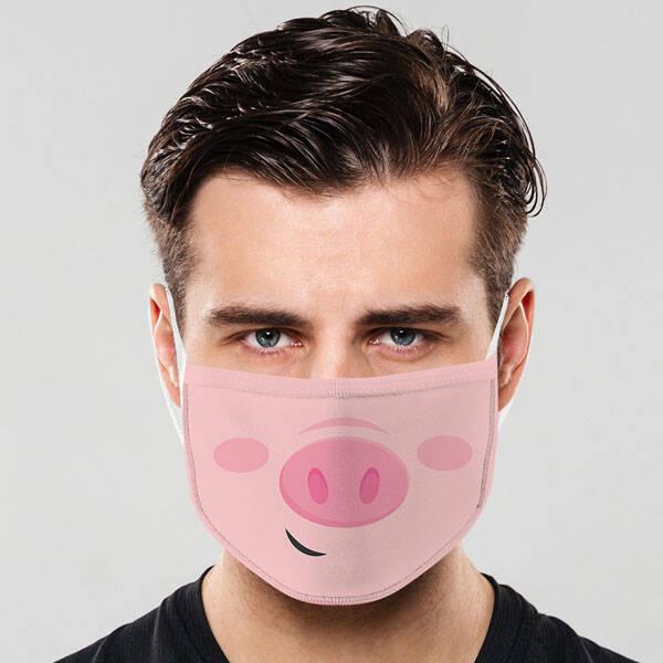 Pig Yıkanabilir Ağız Maskesi
