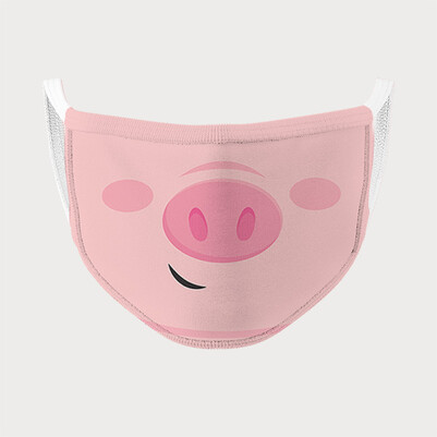 Pig Yıkanabilir Ağız Maskesi - Thumbnail