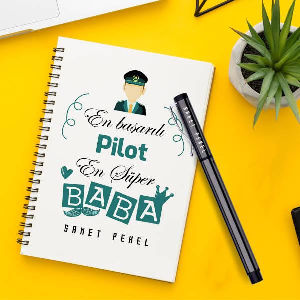 Pilot Babalara Özel Defter ve Kalem