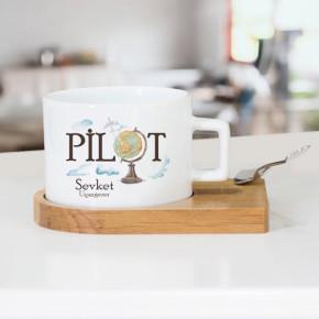 - Pilotlara Özel Çay Fincanı