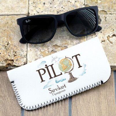 - Pilotlara Özel Gözlük Kılıfı