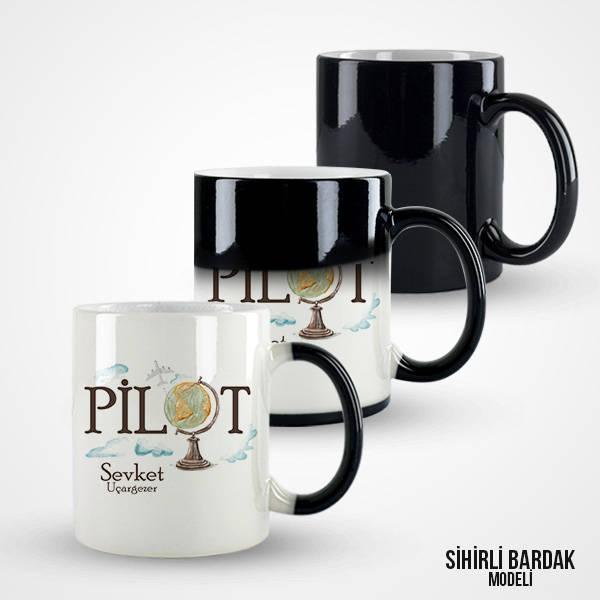 Pilotlara Özel Kahve Kupası
