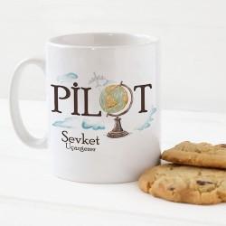 - Pilotlara Özel Kahve Kupası