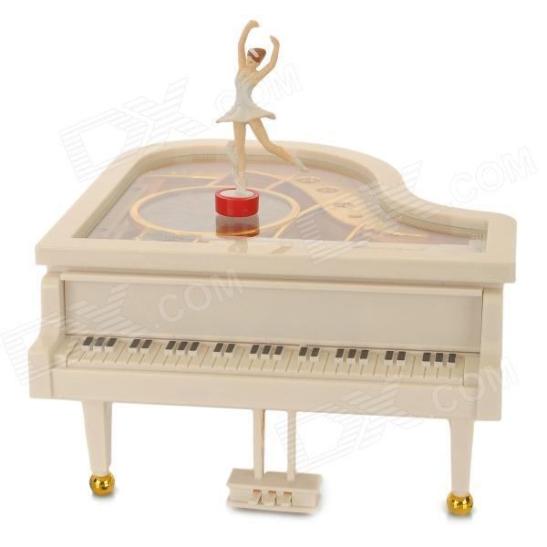 Piyano Tasarımlı Müzik Kutusu