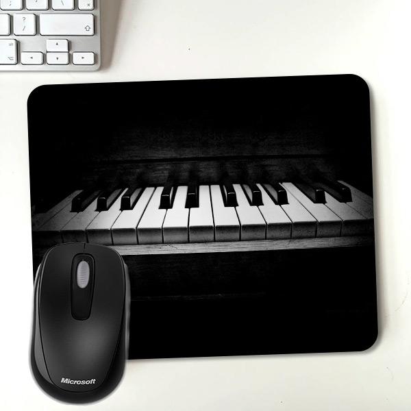 Piyano Temalı Tasarım Mousepad