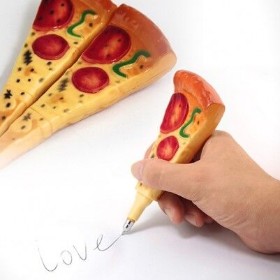 - Pizza Pen - Pizza Şeklinde Magnet Kalem