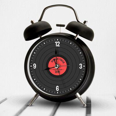 Plak Tasarımlı İsimli Çalar Saat - Thumbnail
