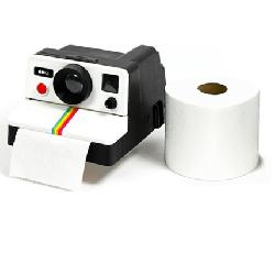 Polaroll - Fotoğraf Makinesi Tuvalet Kağıtlığı - Thumbnail