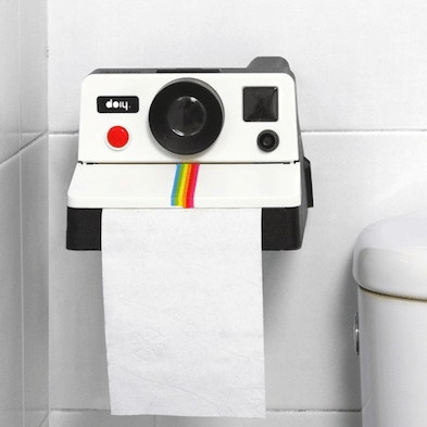 Polaroll - Fotoğraf Makinesi Tuvalet Kağıtlığı