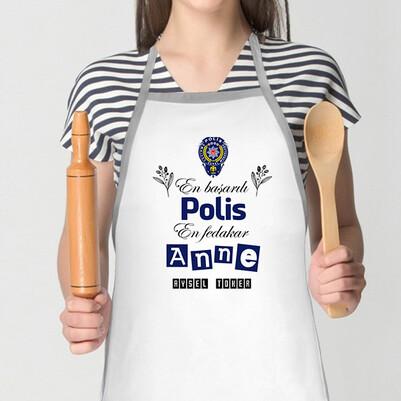 - Polis Annelere Özel Mutfak Önlüğü