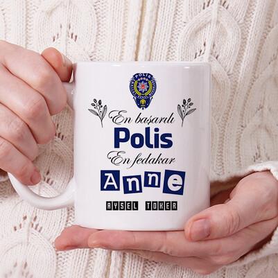 - Polis Anneye Hediye Kupa Bardak