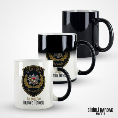 Polis Özel Harekat Kupa Bardak - Thumbnail