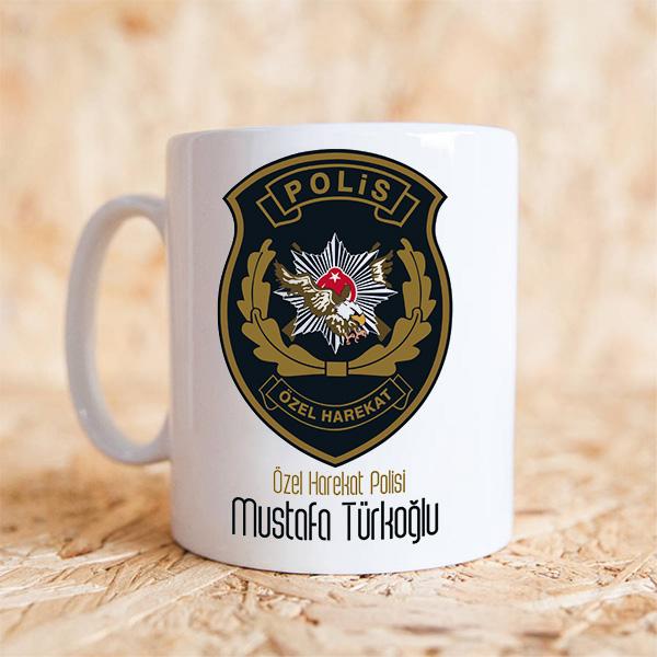 Polis Özel Harekat Kupa Bardak