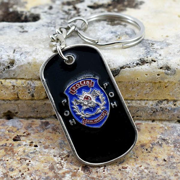 Polis Özel Harekat Temalı Metal Anahtarlık