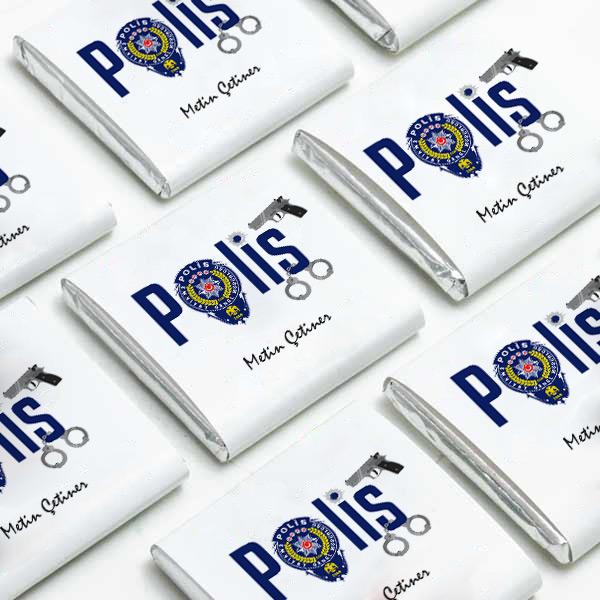 Polis Temalı Mesleki Çikolatalar
