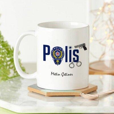 - Polis Teşkilatı Armalı Kupa Bardak