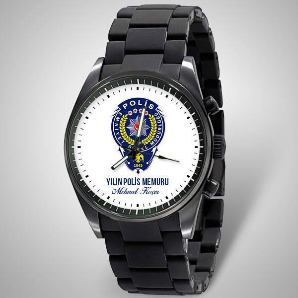 Polise Armalı İsme Özel Kol Saati
