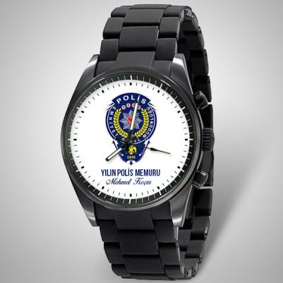 - Polise Armalı İsme Özel Kol Saati