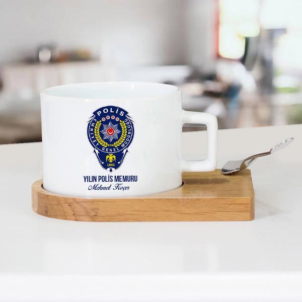 Polislere Özel Çay Fincanı