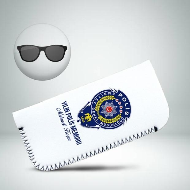 Polislere Özel Güneş Gözlüğü Kılıfı
