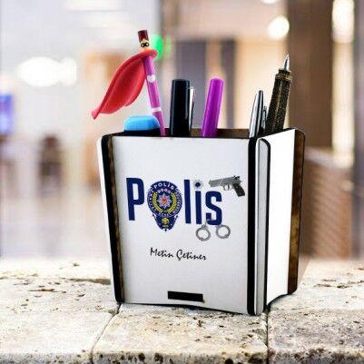 - Polislere Özel Hediyelik Masa Kalemliği