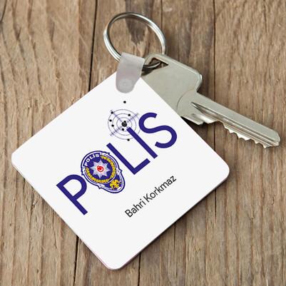 - Polislere Özel Mesleki Anahtarlık