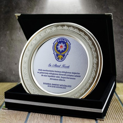 - Polislere Özel Ödül Plaket