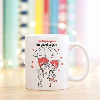 - Ponçik Aşıklara Özel Sevgili Kupa Bardağı