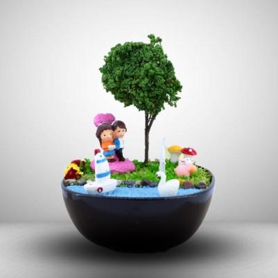- Ponçik Sevgililer Mini Aşk Bahçesi