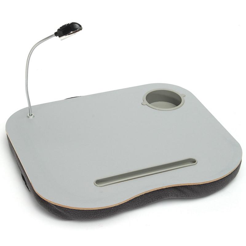 Portatif LED Lambalı Laptop Standı