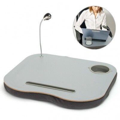 Portatif LED Lambalı Laptop Standı - Thumbnail