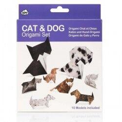 Pratik Kedi ve Köpek Origami Seti - Thumbnail