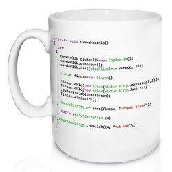 - Programcılara Özel Kupa Bardak